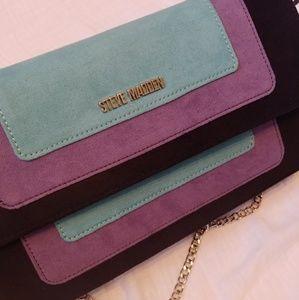 Steve Madden suede crossbody purse